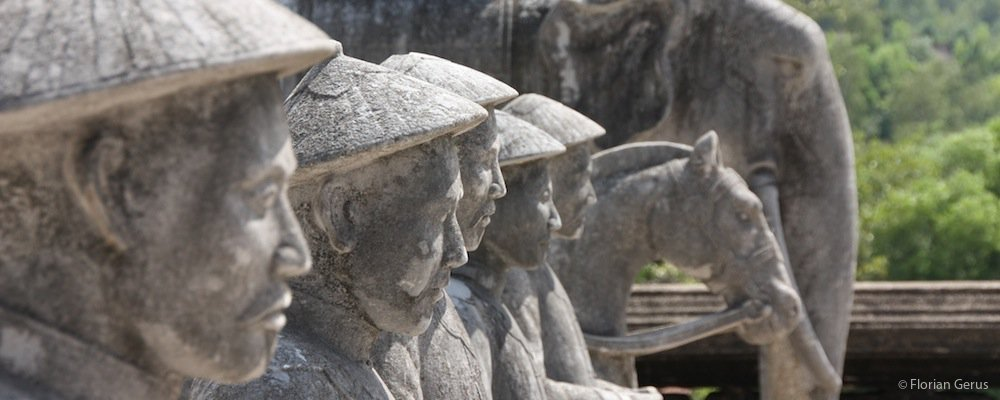 Statues au Vietnam